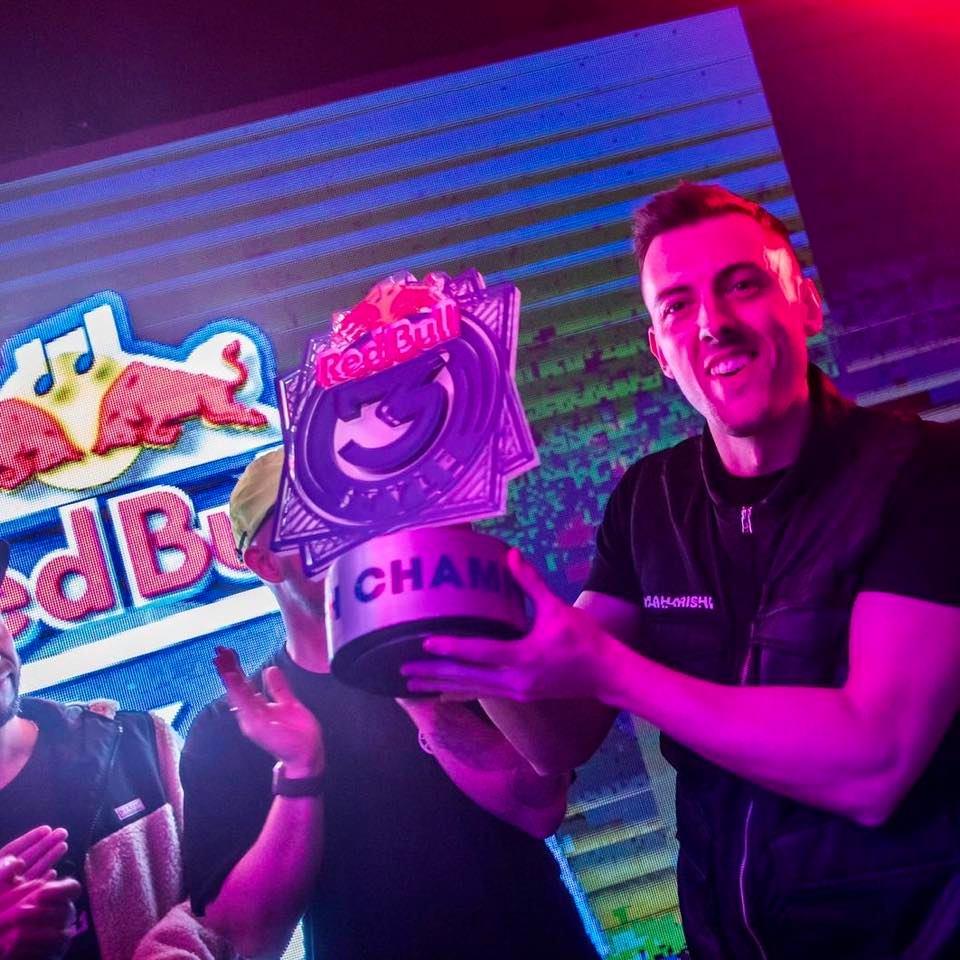 DJames Red Bull 3Style UK Champ